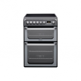 Hotpoint 60 cm ceramic top double oven